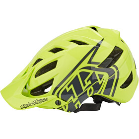 Troy Lee Designs A1 Helm Jugend drone glow green